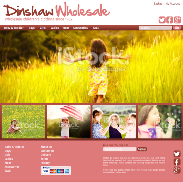 Dinshaw website design