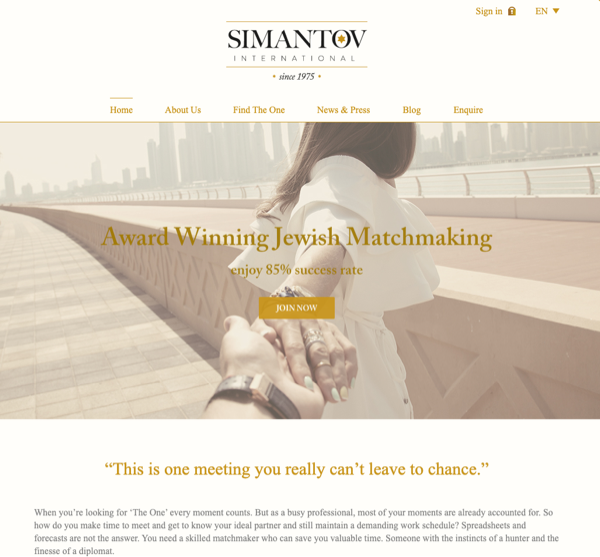 Simantov Website