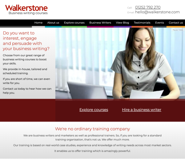 Walkerstone Website