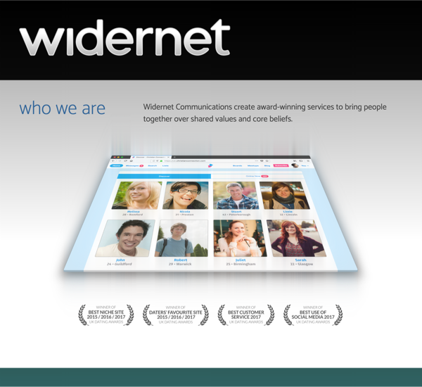 Widernet website